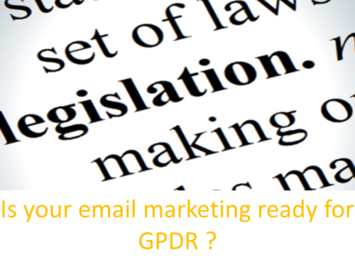 Is your email marketing GPDR compliant?
